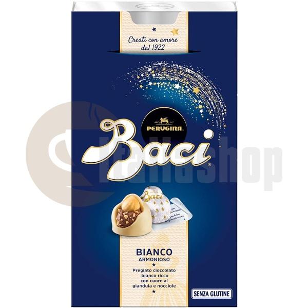 Baci Perugina Шоколадови Бонбони С Бяк Шоколад 70% - 200 Гр