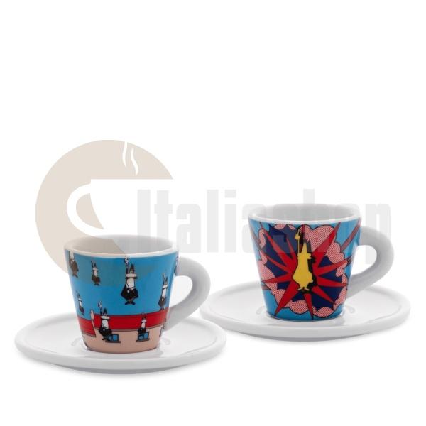 Bialetti Комплект От 2 Еспресо Чаши Arte