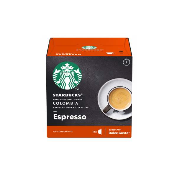 Starbucks Colombia Espresso Капсули За Dolce Gusto - 12 бр.