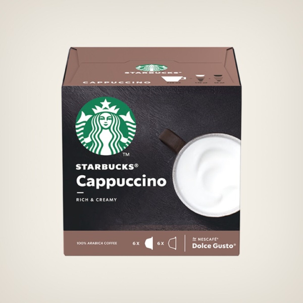 Starbucks Cappuccino Капсули За Dolce Gusto - 12 бр.