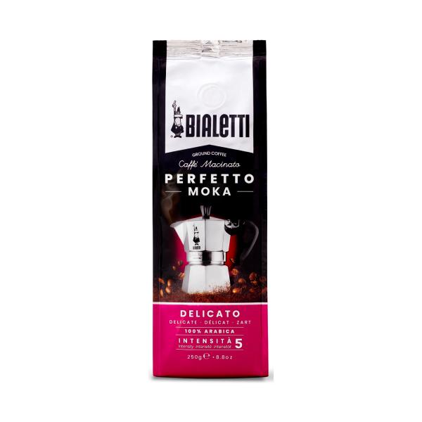 Bialetti Perfetto Moka Delicato Mляно Kафе - 250 gr