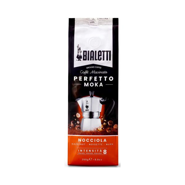 Bialetti Perfetto Moka Nocciola Mляно Kафе - 250 gr