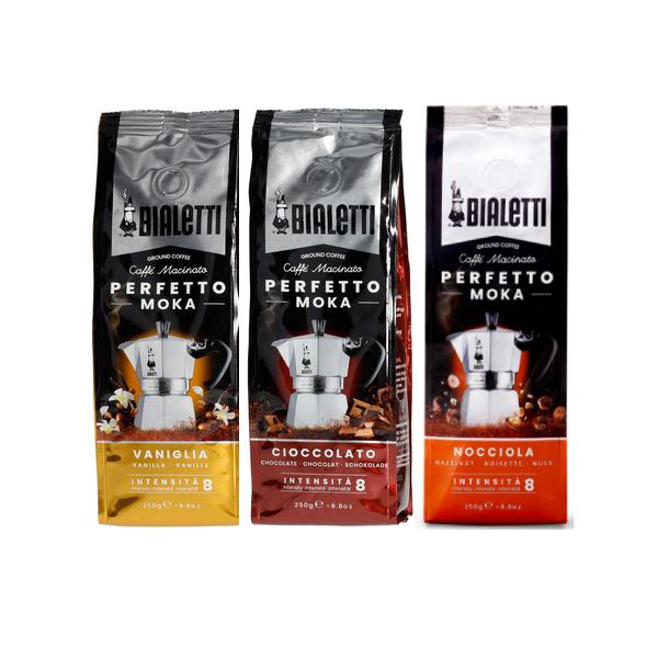 Bialetti Perfetto Moka - 3 пакета вкусове