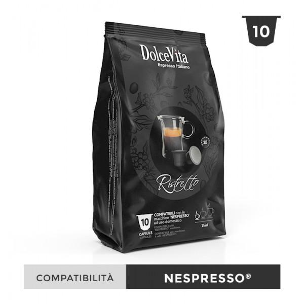 Dolce Vita съвместими капсули за Nespresso Ristretto 10 бр