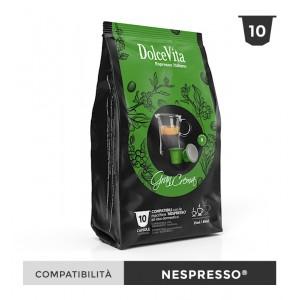 Dolce Vita съвместими капсули за Nespresso Gran Crema 10 бр