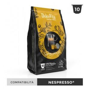 Dolce Vita съвместими капсули за Nespresso Gran Gusto 10 бр