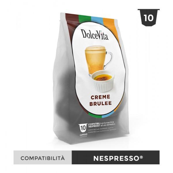 Dolce Vita съвместими капсули за Nespresso Creme Brulee 10 бр