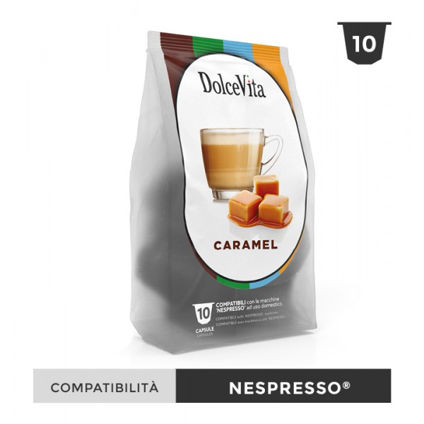 Dolce Vita съвместими капсули за Nespresso Caramelito 10 бр