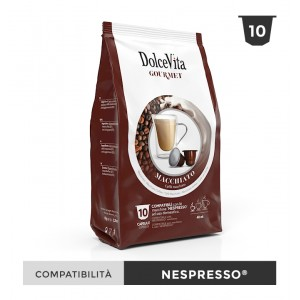 Dolce Vita съвместими капсули за Nespresso Macchiato 10 бр