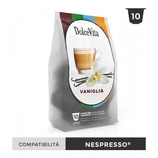Dolce Vita съвместими капсули за Nespresso Vaniglietta 10 бр