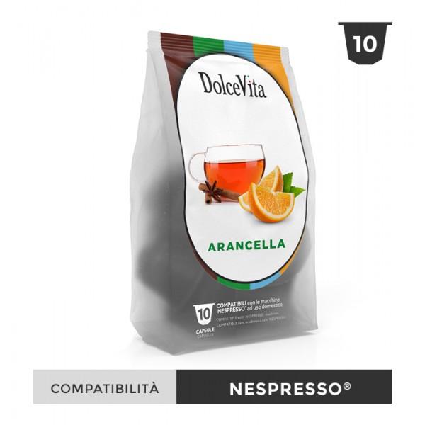 Dolce Vita съвместими капсули за Nespresso Arancella 10 бр