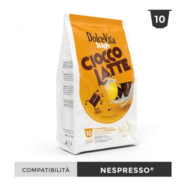 Dolce Vita съвместими капсули за Nespresso Ciocco Latte 10 бр