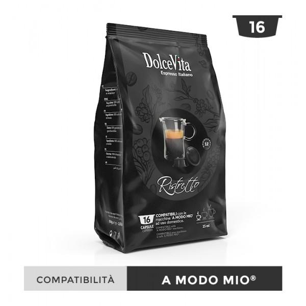 Dolce Vita съвместими капсули за Lavazza A Modo Mio Ristretto 16 бр