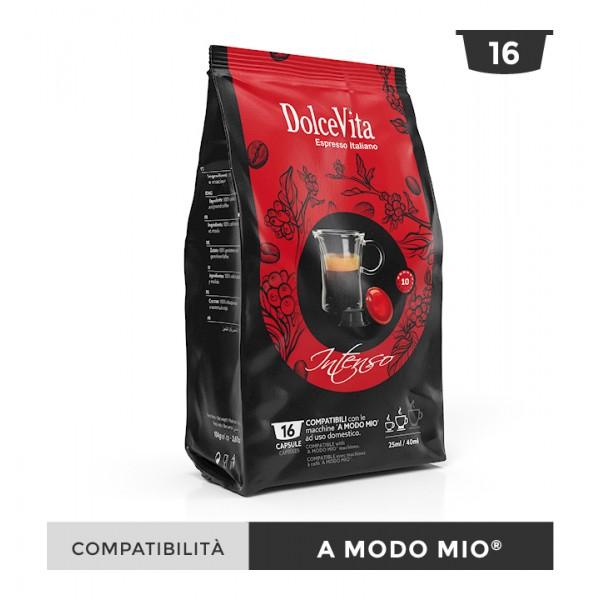 Dolce Vita съвместими капсули за Lavazza A Modo Mio Intenso 16 бр