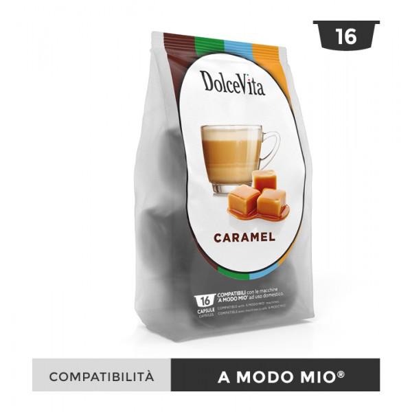 Dolce Vita съвместими капсули за Lavazza A Modo Mio Caramelito 16 бр