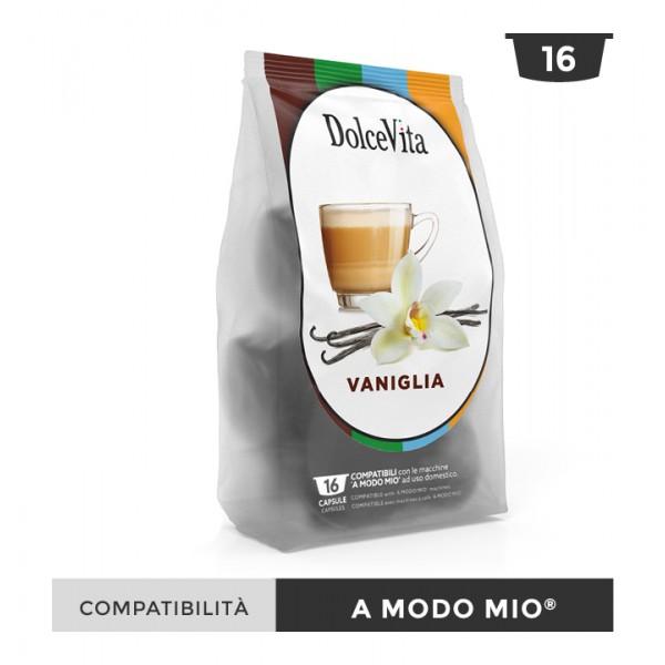 Dolce Vita съвместими капсули за Lavazza A Modo Mio Vaniglietta 16 бр