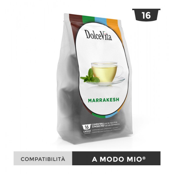 Dolce Vita съвместими капсули за Lavazza A Modo Mio Marrakesh 16 бр