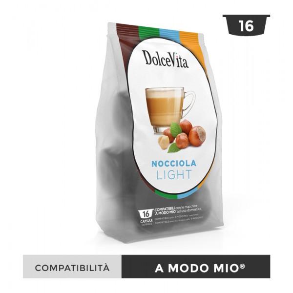 Dolce Vita съвместими капсули за Lavazza A Modo Mio Nocciolino Light 16 бр
