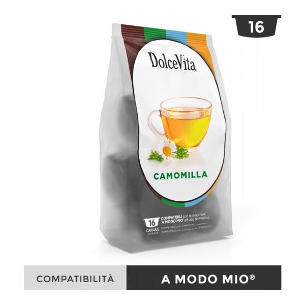 Dolce Vita съвместими капсули за Lavazza A Modo Mio Camomilla 16 бр