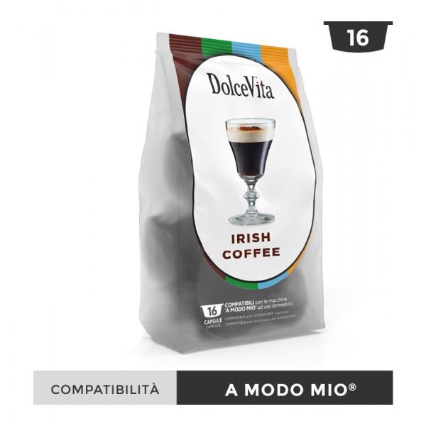 Dolce Vita съвместими капсули за Lavazza A Modo Mio Irish Coffee 16 бр
