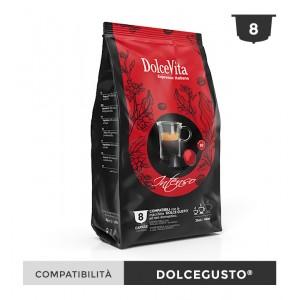 Dolce Vita съвместими капсули за Dolce Gusto Intenso 8 бр