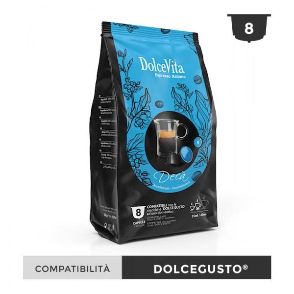 Dolce Vita съвместими капсули за Dolce Gusto Deca 8 бр