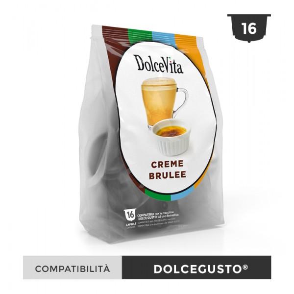 Dolce Vita съвместими капсули за Dolce Gusto Creme Brulee 16 бр