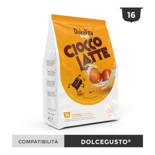 Dolce Vita съвместими капсули за Dolce Gusto Ciocco Latte 16 бр