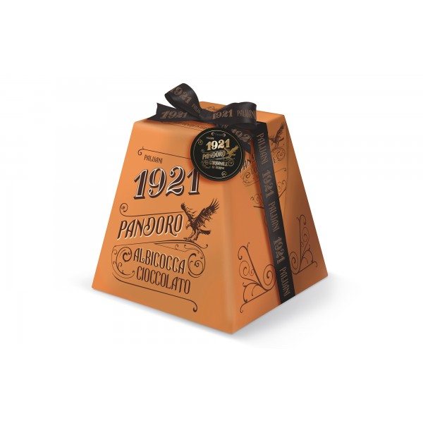 Pandoro с парченца шоколад