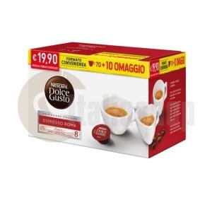 Dolce Gusto Espresso Roma 80 бр + подарък 20 бр капсули микс + 10 специални капсули Foodness
