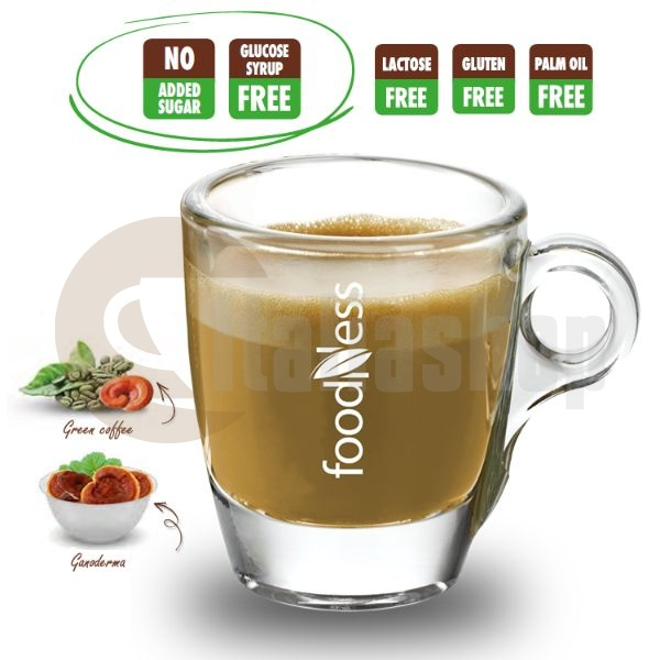 Foodness Зелено кафе с Ганодерма (Рейши) капсули 50бр