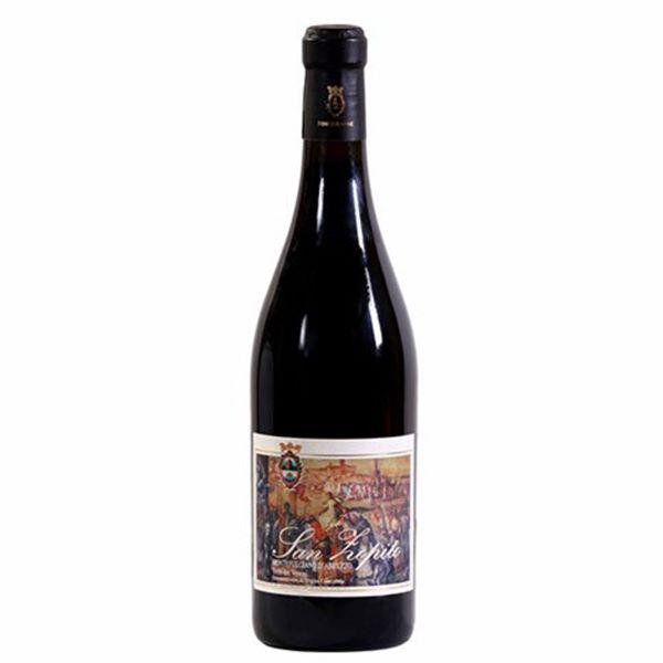 Torre Raone Червено Вино San Zopito 750мл