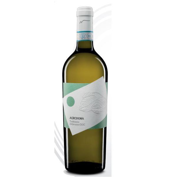 Novaripa Бяло Вино Agronika Trebbiano D'abruzzo 750ml