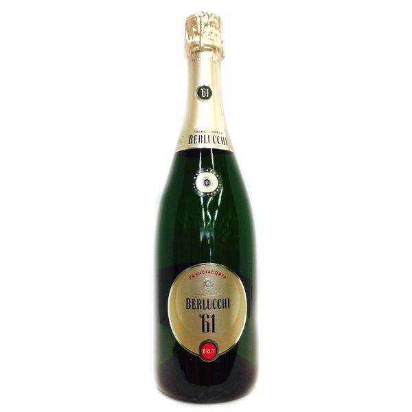 Franciacorta Berlucchi Пенливо Вино '61 Brut 375ml