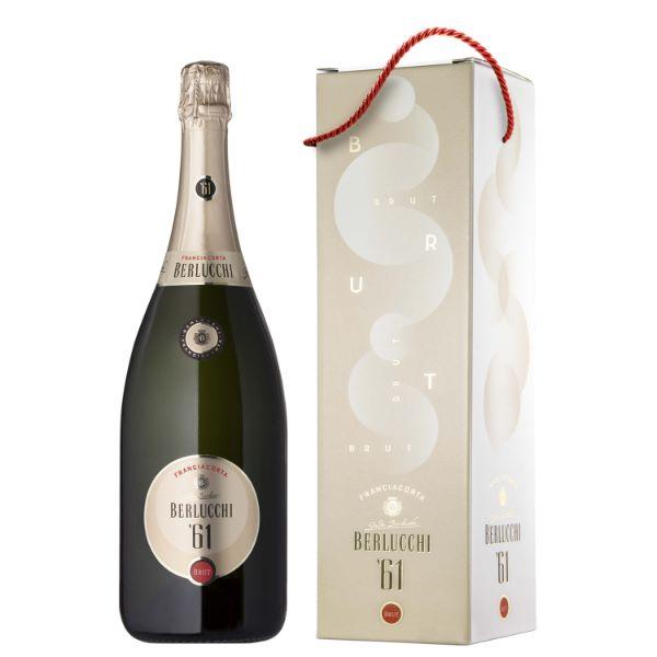 Franciacorta Berlucchi Пенливо Вино '61 Brut 1500ml