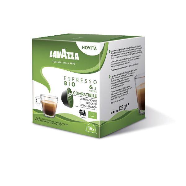 Lavazza Съвместими Капсули С Dolce Gusto Espresso Bio 16 Бр