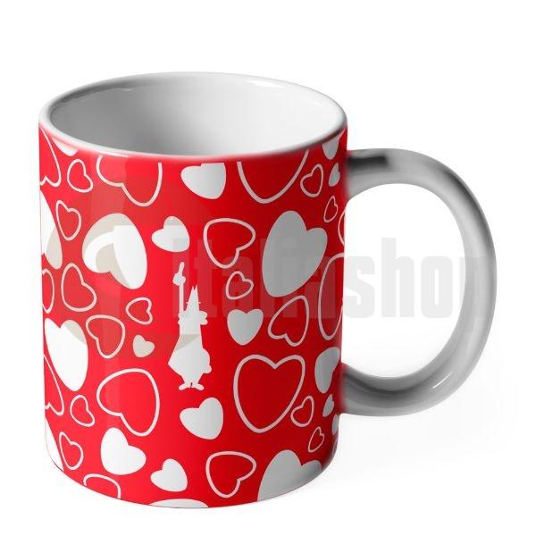 Bialetti чаша Cuore червена