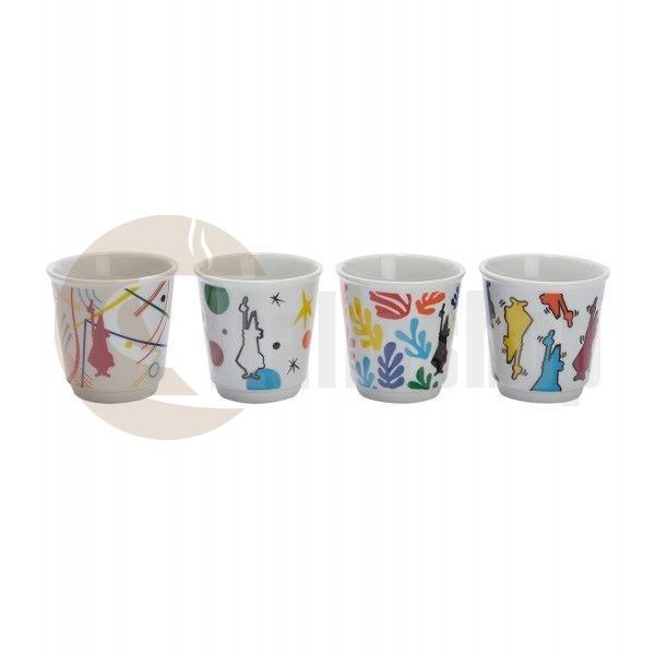 Bialetti комплект от 4 еспресо чаши ARTE