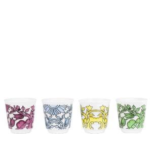 Bialetti комплект от 4 еспресо чаши Primavera