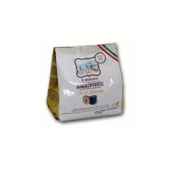 Gattopardo съвместими капсули с Nespresso Чай Лимон 10 бр