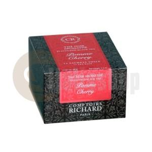 Cafes Richard Черен чай ябълка и череша - 15 бр.