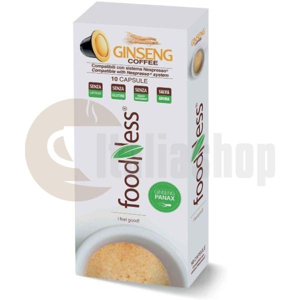 Foodness капсули за Nespresso Кафе с Женшен 10бр