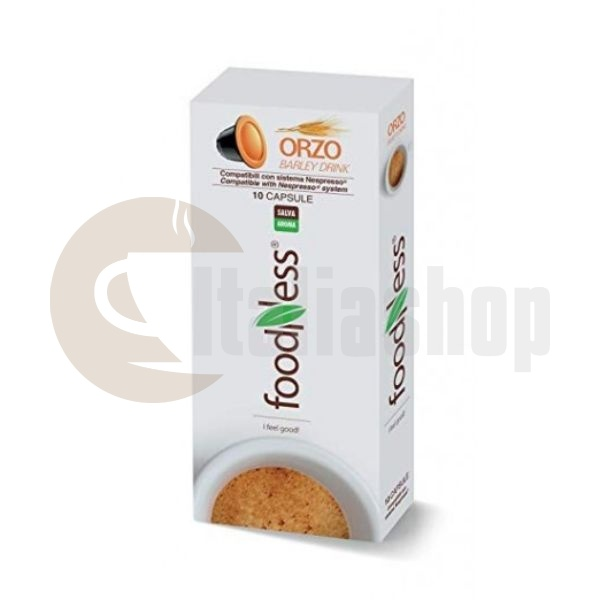 Foodness капсули за Nespresso Ечемик (орзо) 10бр