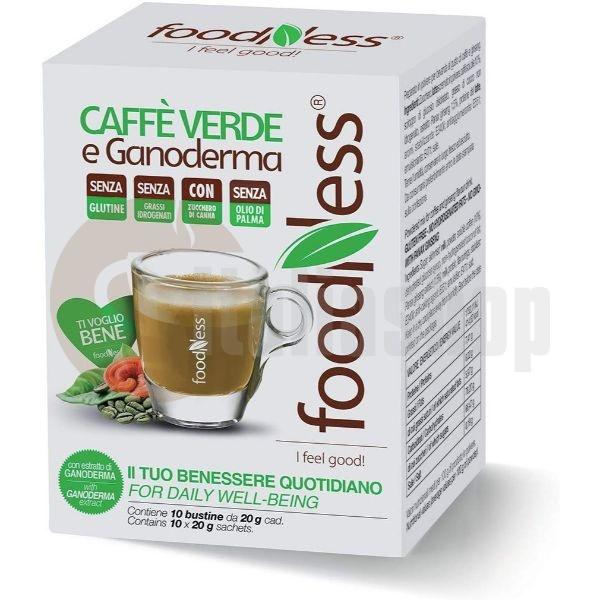 Foodness Разтворимо Зелено Кафе С Ганодерма