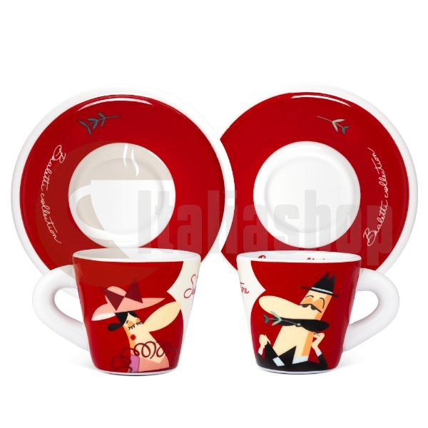 Bialetti комплект от 2 чаши Seddutore