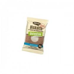 Falcone Безглутеновa шоколадова бисквита с млечен пълнеж 1 бр