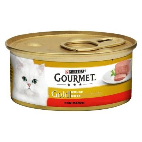 Котешка Храна GOURMET® GOLD Пастет с Говеждо, 85g