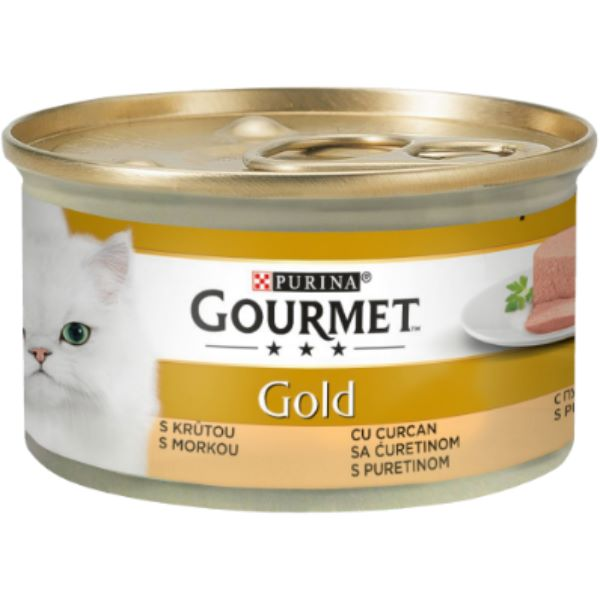 Котешка Храна Gourmet® Gold Пастет С Пуйка, 85g