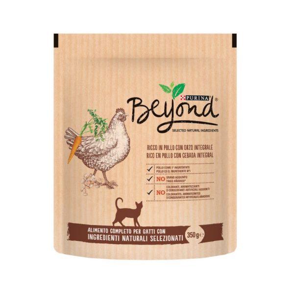 Котешка Храна Beyond с Пиле и зърнени храни, 350гр