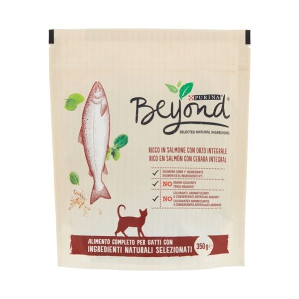 Котешка Храна Beyond със Сьомга и зърнени храни 350гр